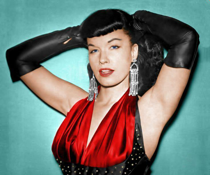Ready for a night out! Happy Friday!! 🥂💖🌙 #BettiePage #weekend #Friday #pinup #vintage #glamour #retro