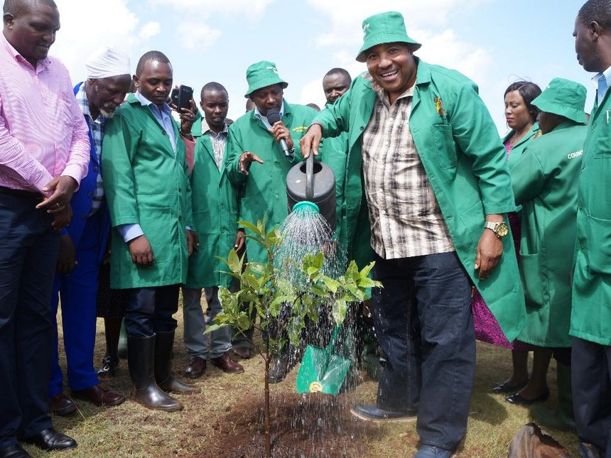 Kiambu to plant one million trees by mid-April to restore forests