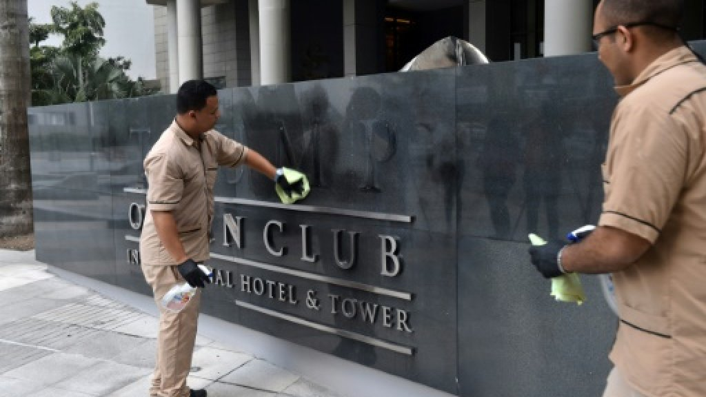 Trump Organization taking legal action over Panama Hotel name change