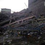 Building collapses in Kariobangi, tenants evacuated