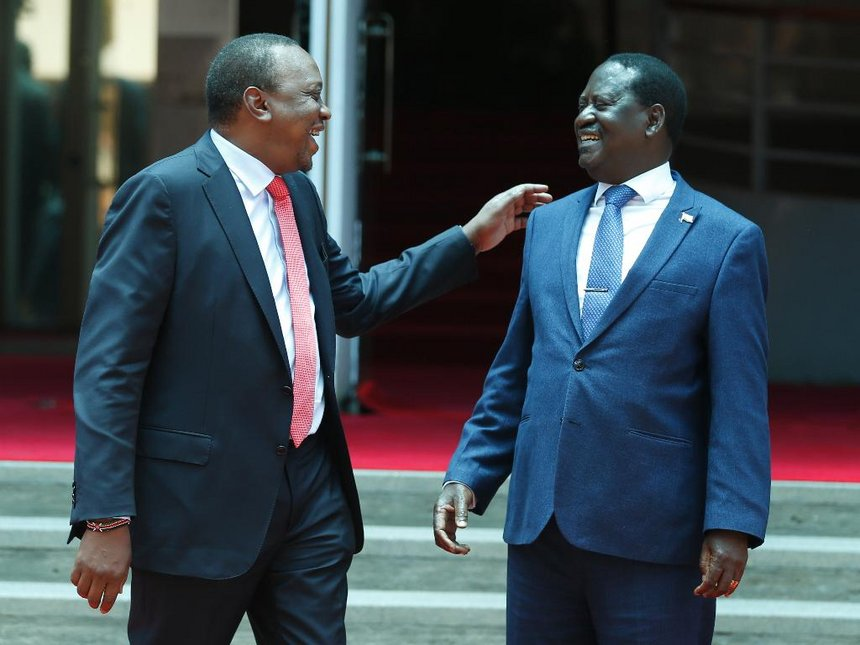 Mixed reactions in Kisumu as Raila and Uhuru meet
