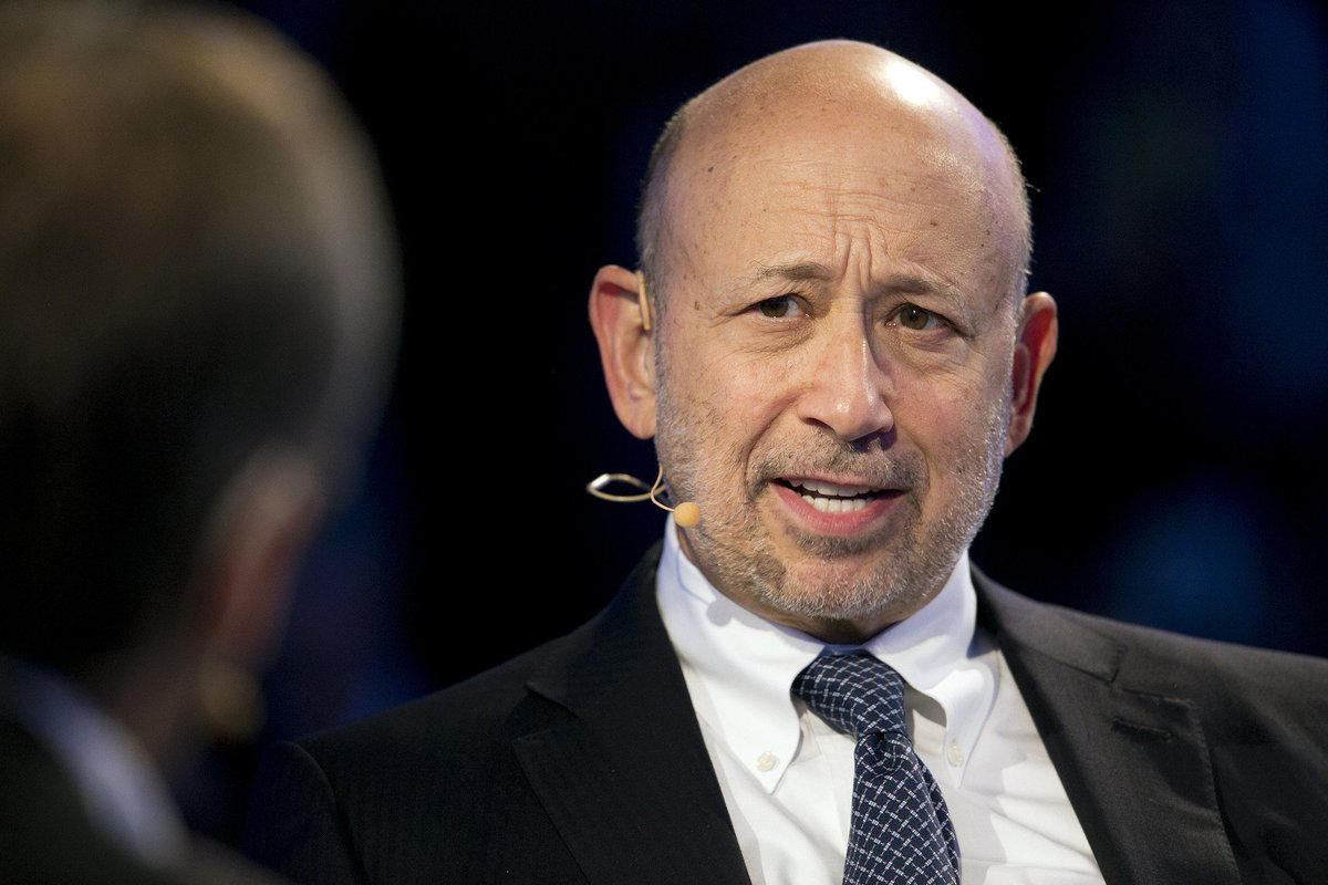 Goldman Sachs CEO Blankfein said to exit as soon as year's end
