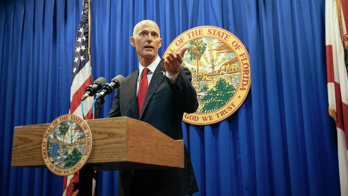 Florida Gov. Rick Scott breaks with NRA to sign new gun regulations