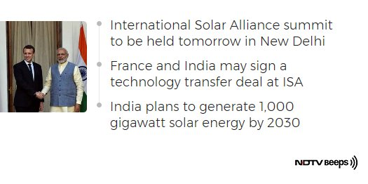 French President's Visit May Turbo Charge PM Modi's Solar Energy Plans