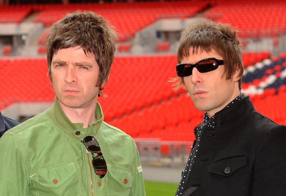 Liam Gallagher's sons Gene and Lennon are the spitting image of Oasis star and his brother Noel