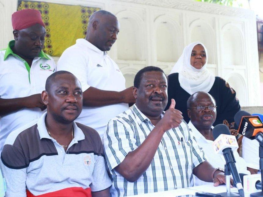 Mudavadi trashes Uhuru-Raila pact, says not reflecting the will of Kenyans