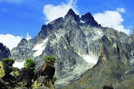 Rivers dry up as Mt Kenya glaciers slowly fade away