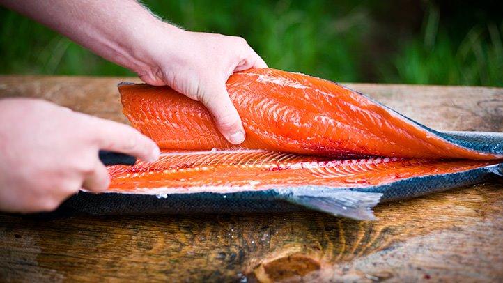 Как засолить рыбу в домашних условиях лосось 662
