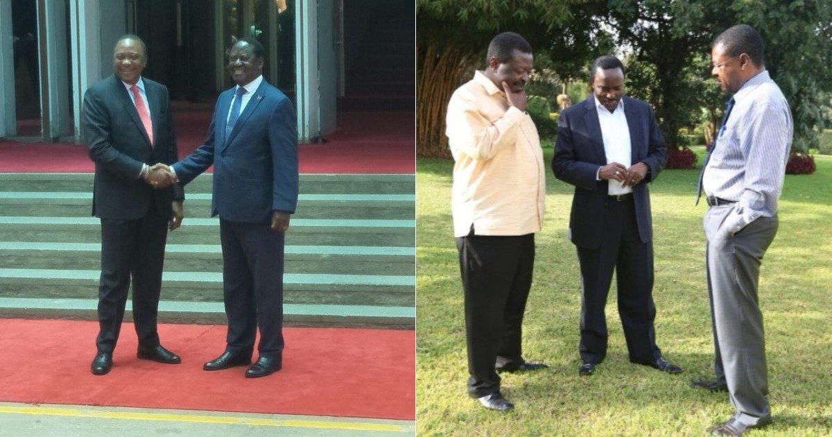Raila - Uhuru selfish deal was meant to please Trump - Musalia Mudavadi