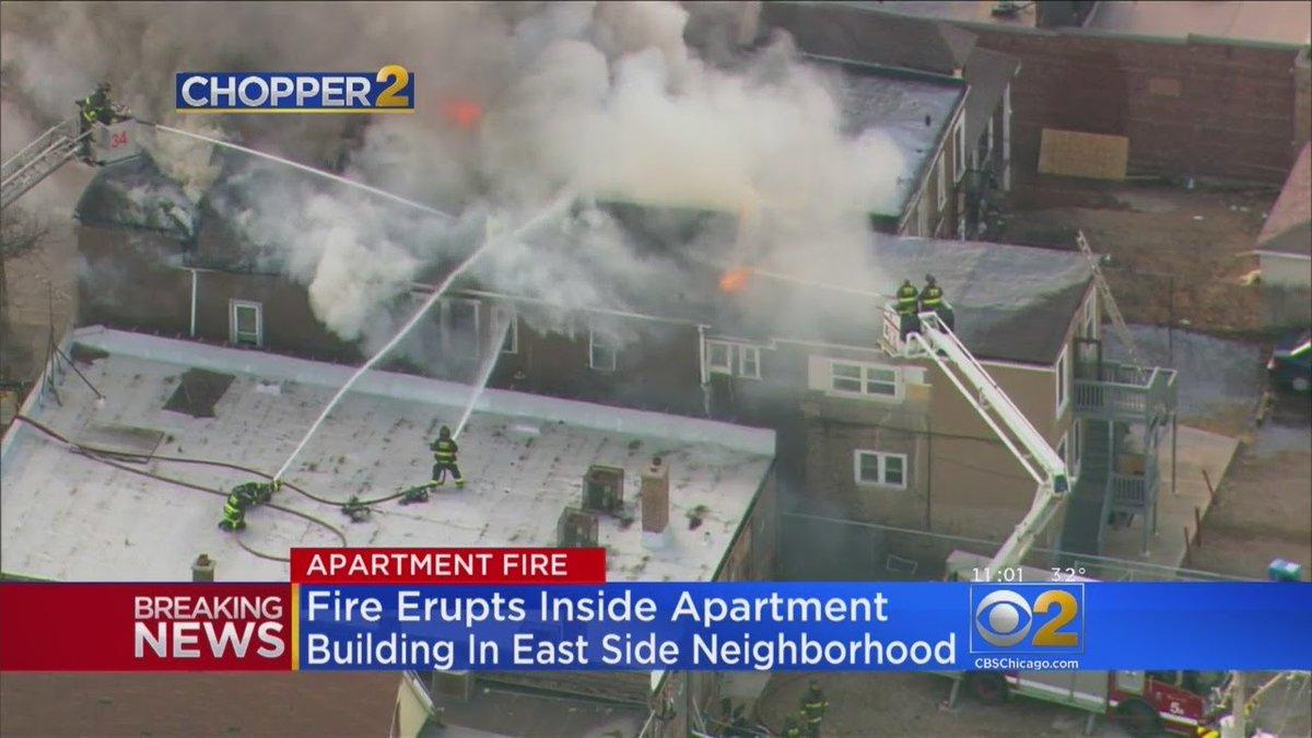 2 Injured In East Side Fire