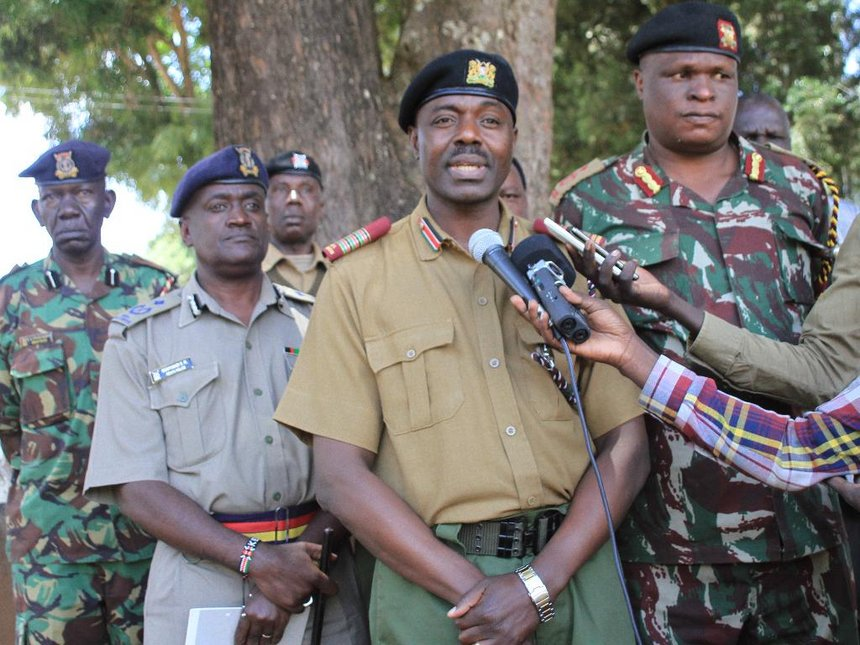 You can't end bandit attacks in a day, says Baringo official