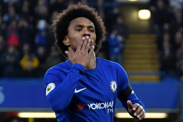 Premier League : Chelsea et Willian s'offrent un rebond contre Crystal Palace