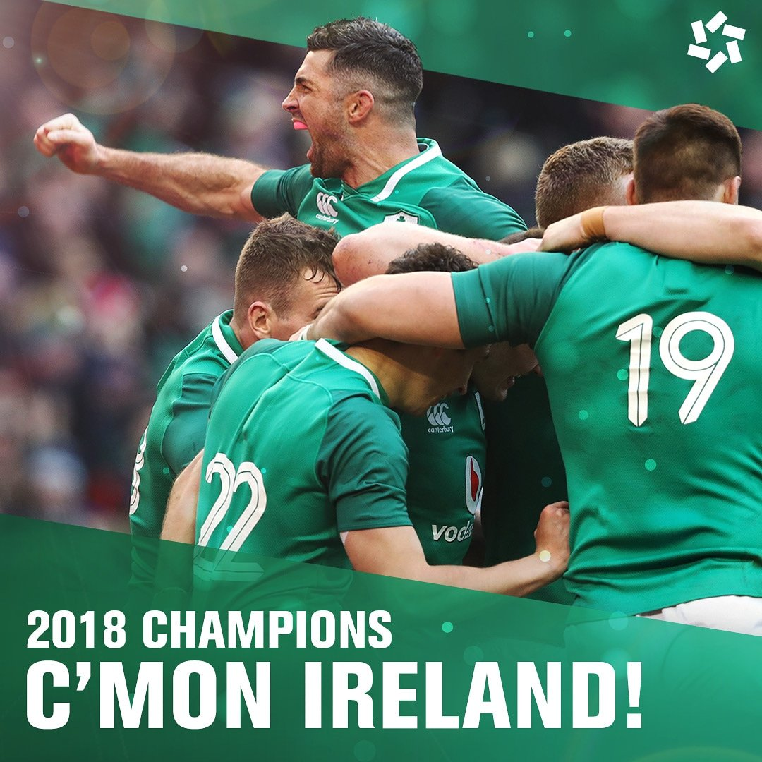 6 Nations Champions 2018! Bring on the Grand Slam👊 #LiveTheJersey #6Nations https://t.co/wMUVuayqhA
