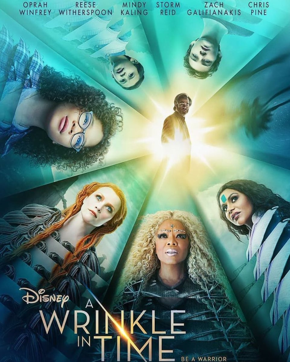 I'm so excited to see @WrinkleInTime! https://t.co/tdGbWmUiM3