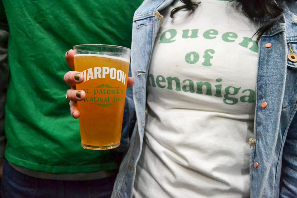 Seen@ the 2018 Harpoon Brewery St. Patrick's Festival in Boston
