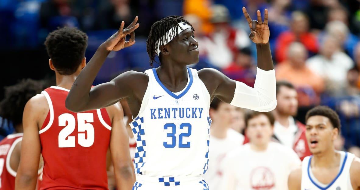 3 Bird: Wenyen Gabriel felt 'free,' let it fly in record day for Kentucky