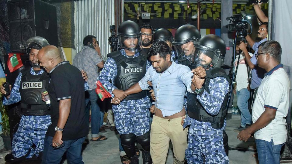 Maldives opposition protesters arrested after top court validates emergency rule