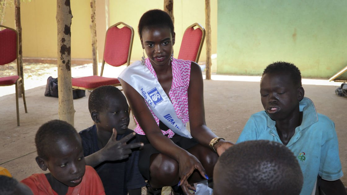 Amid South Sudan's war, a Miss World pageant carries on