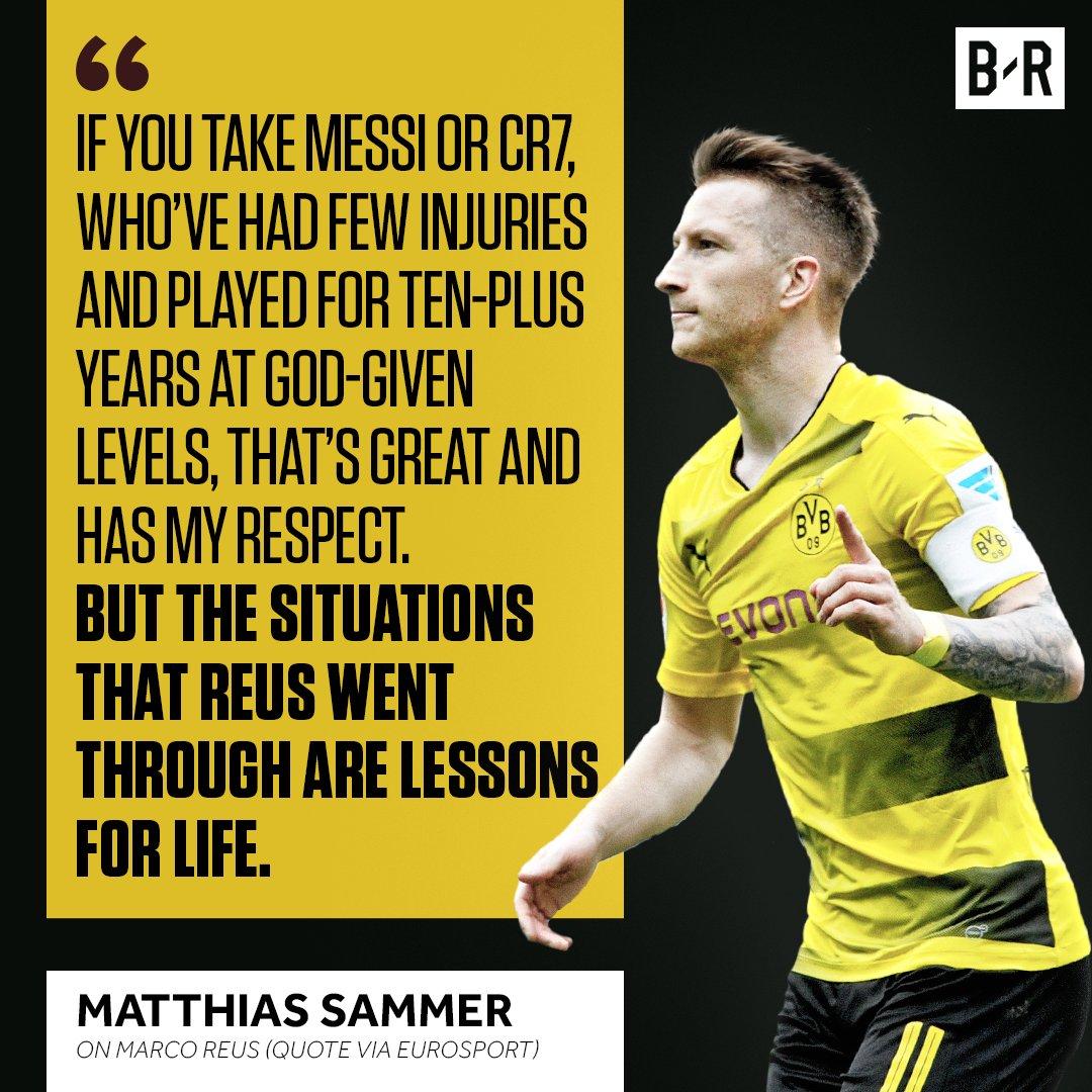 RT @brfootball: Marco Reus is an inspiration 🙌 https://t.co/6CCYvSneZV
