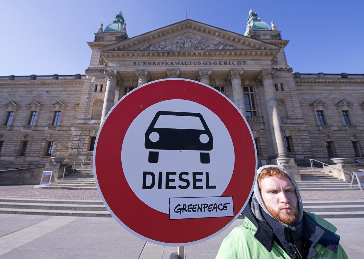 Conservation group lauds German diesel ruling