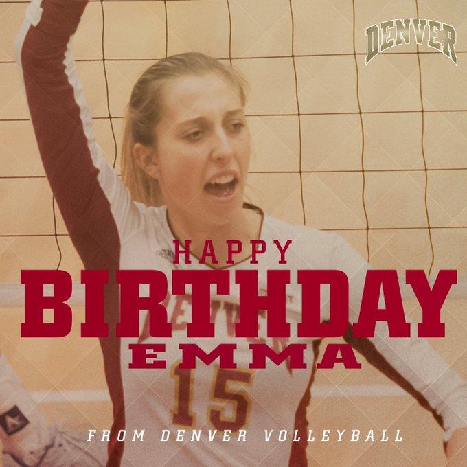 Wishing Emma Willis a happy birthday!