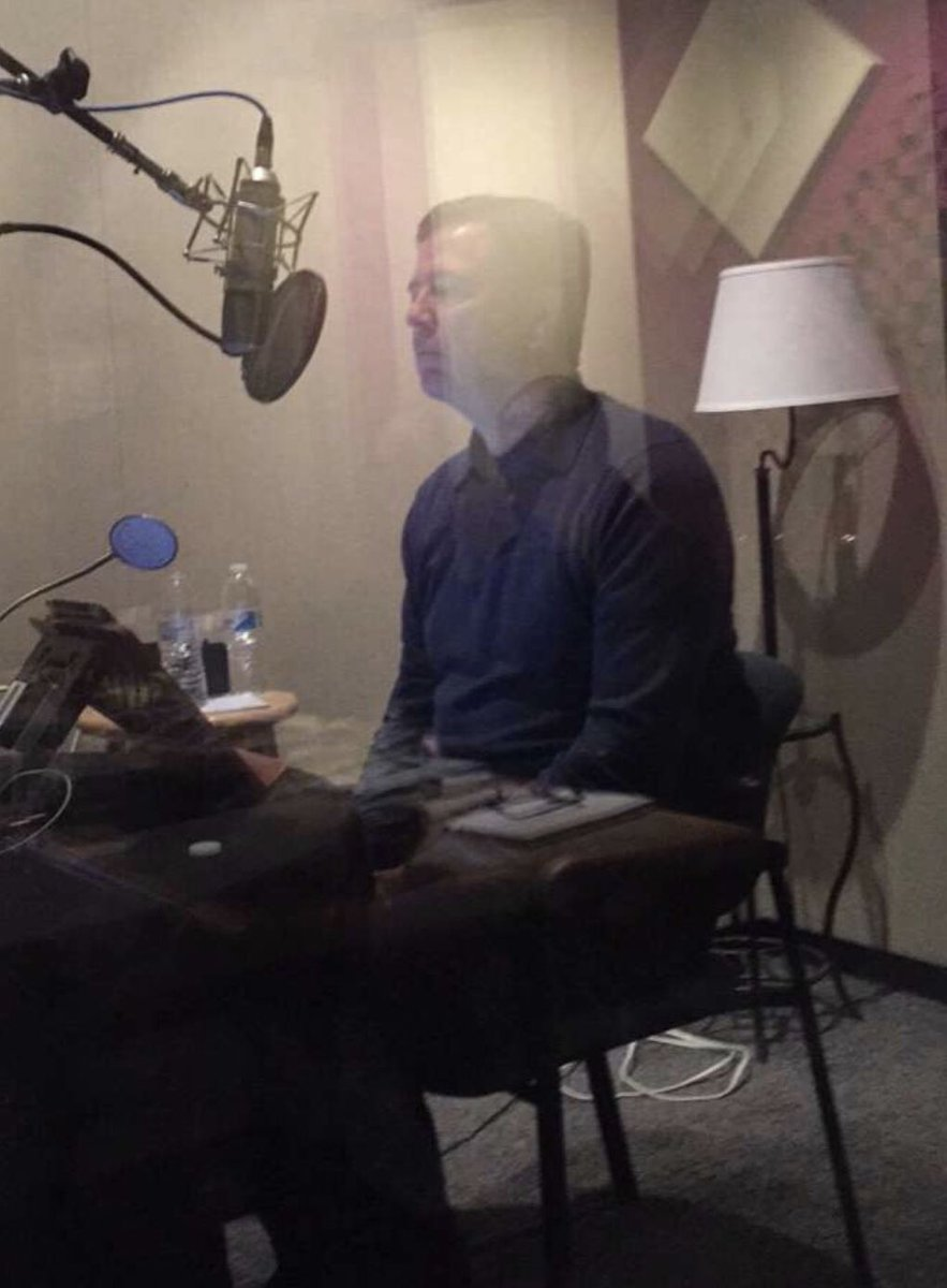 RT @Comey: Lordy, this time there will be a tape. Audio book almost finished. https://t.co/38LNOJdtw7