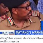 Fred Matiang'i has warned chiefs in north eastern if border conflicts rage on