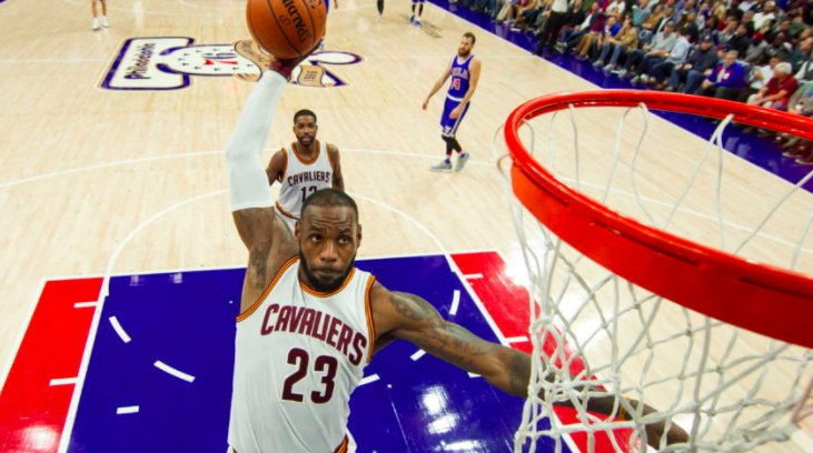 LeBron James flattered by Philly fans' free-agency fawning
