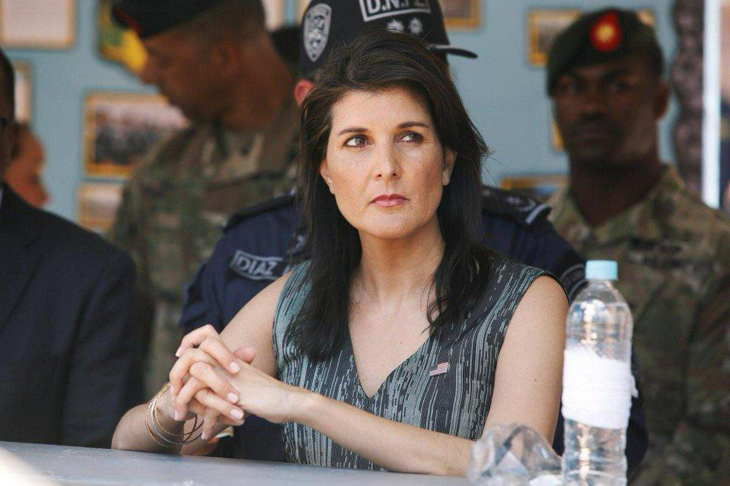 In Honduras, U.S. envoy Haley tempers Trump threat over drug trafficking