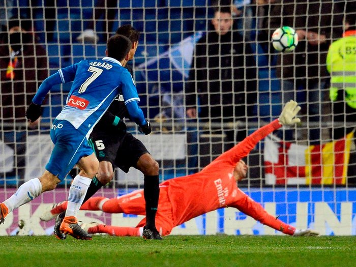 Cristiano Ronaldo rested as Espanyol halt Real Madrid's revival with another late winner