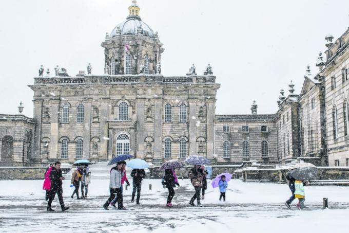 Temperatures plunge across Europe