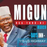 Miguna embarks on NRM mobilization and recruitment tour in the US