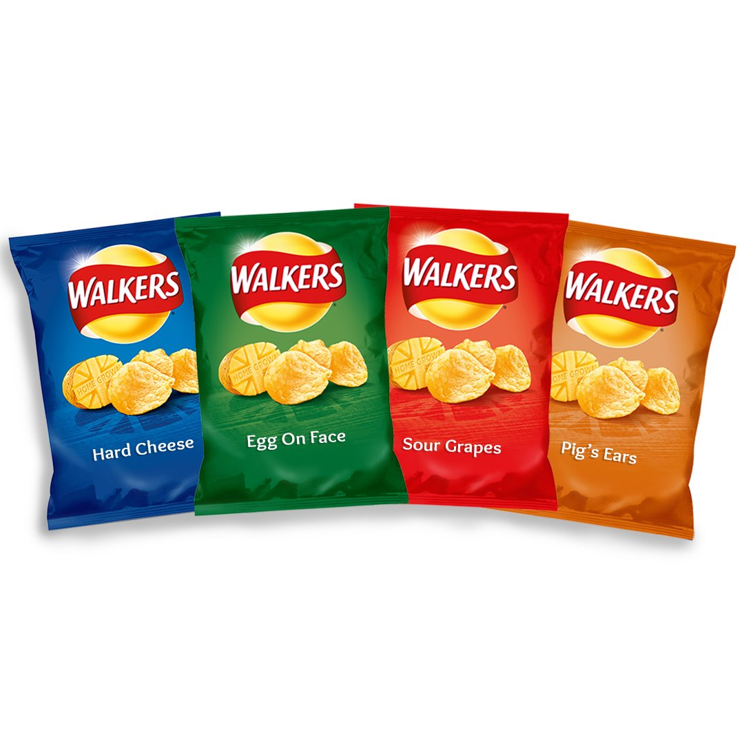 RT @haveigotnews: As civil servant compares UK's EU deal to a 'packet of crisps', Walkers unveils new Brexit range: https://t.co/t49sOaSoyd