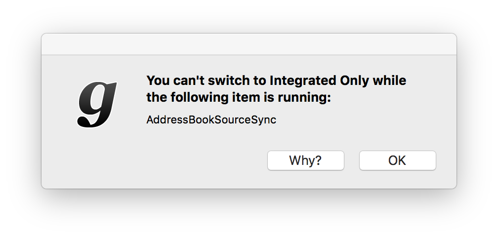 "Today in ""why did that turn on my GPU?"": Address Book syncing. https://t.co/QTsxRbUP4I"