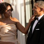 Michelle Obama teases that Barack regrets not dying his hair as it grayed