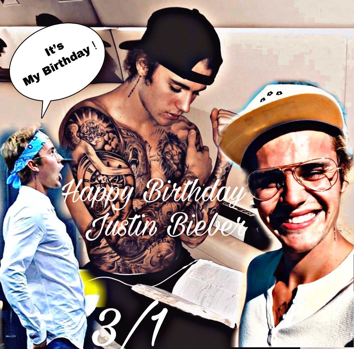 Happy Happy Birthday Justin    Belieber Love Justin Bieber