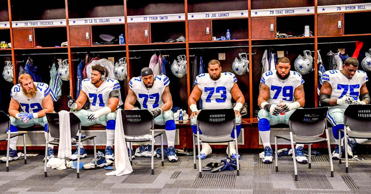 The #DallasCowboys are not ruling anything out in search of a starting left guard.  ��: https://t.co/yqtcMrwBsl https://t.co/BmD93TMFQ1