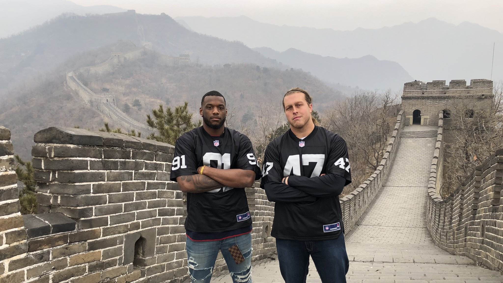 Meanwhile, in China...  #RaidersInChina https://t.co/8qVrRisG0M