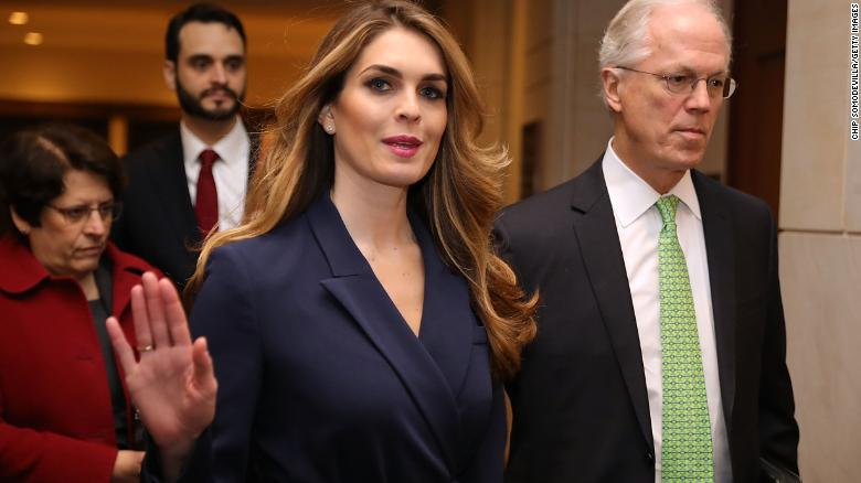 Greenwich native Hope Hicks acknowledges white lies, but won't talk White House in testimony