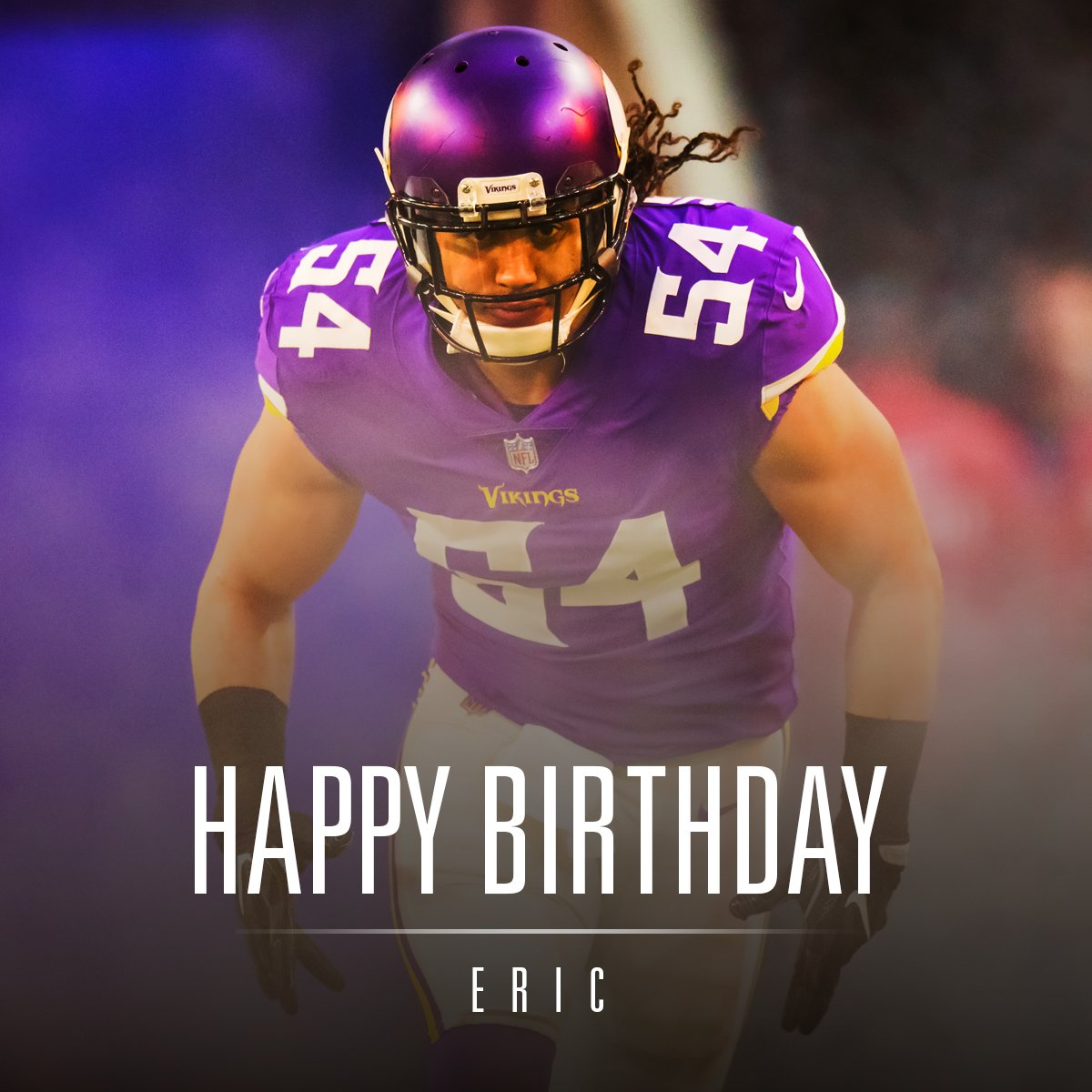 We'll go ahead and celebrate it today.  Happy birthday, @EricKendricks54! https://t.co/YQhrHs7jKb