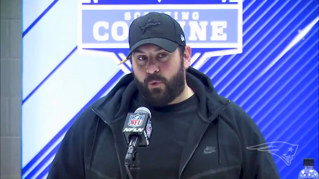 Checking in with Matt Patricia as the former #Patriots DC adjusts to HC role in Detroit: https://t.co/w0VijQ4D4G