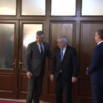Juncker makes first official visit to Kosovo
