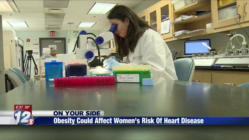 Obesity could affect women's risk of heart disease