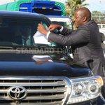Drama as Wanjigi thwarts arrest bid by armed police