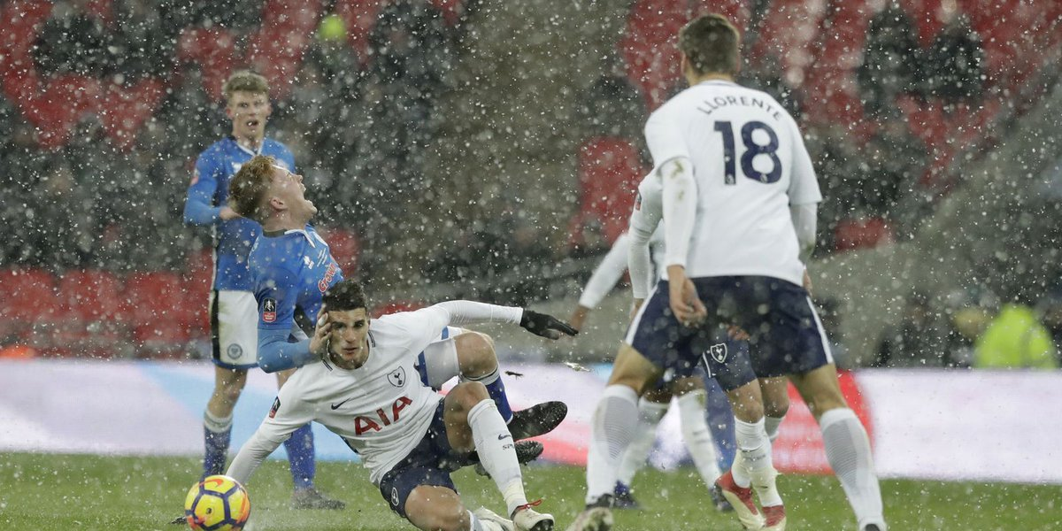 Tottenham eases into FA Cup quarters despite VAR confusion