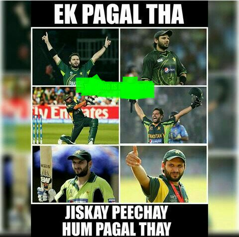The name is Shahid Khan Afridi Happy Birthday Lala