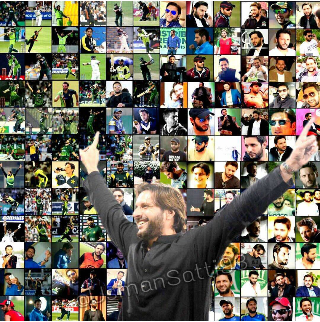 Happy birthday LALA  Boom Boom  Our pride our hero Shahid khan Afridi