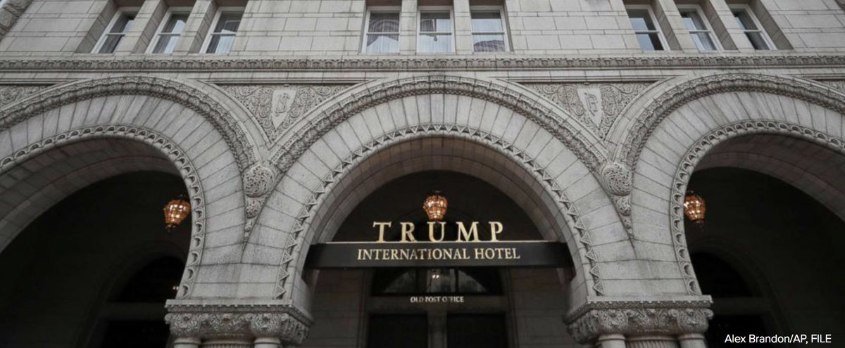 Critics question undisclosed flow of money from foreign governments to Trump properties.