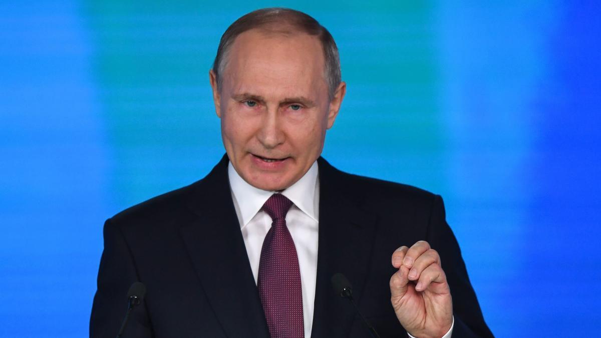 Rede an die Nation: Putin präsentiert neue Atomwaffen gegen US-Raketenabwehr https://t.co/1s3EwXPSG0 https://t.co/HFKzf0NDfB