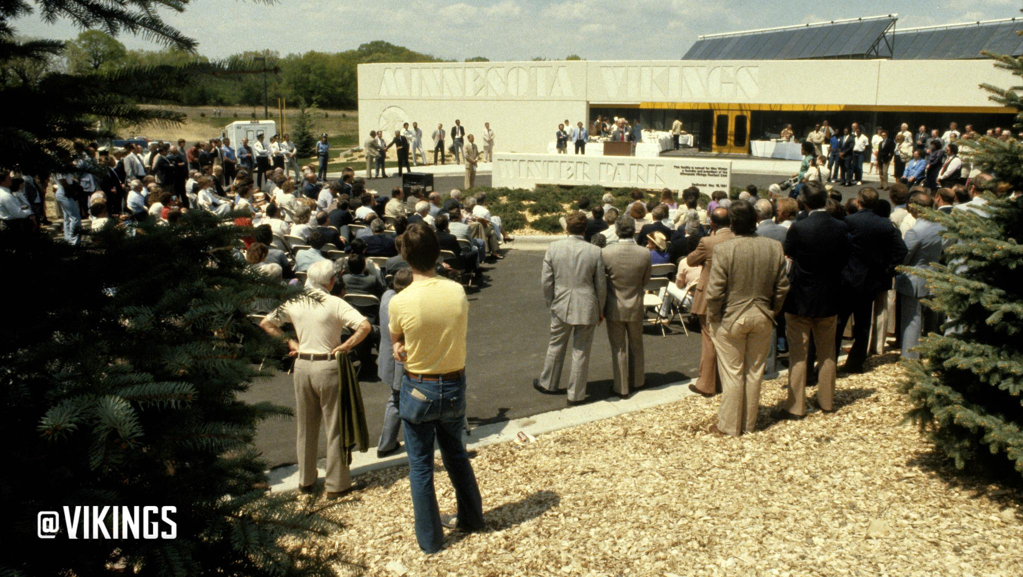 Winter Park has served as the #Vikings home since it opened on May 15, 1981. #tbt https://t.co/op9b7jUmxf
